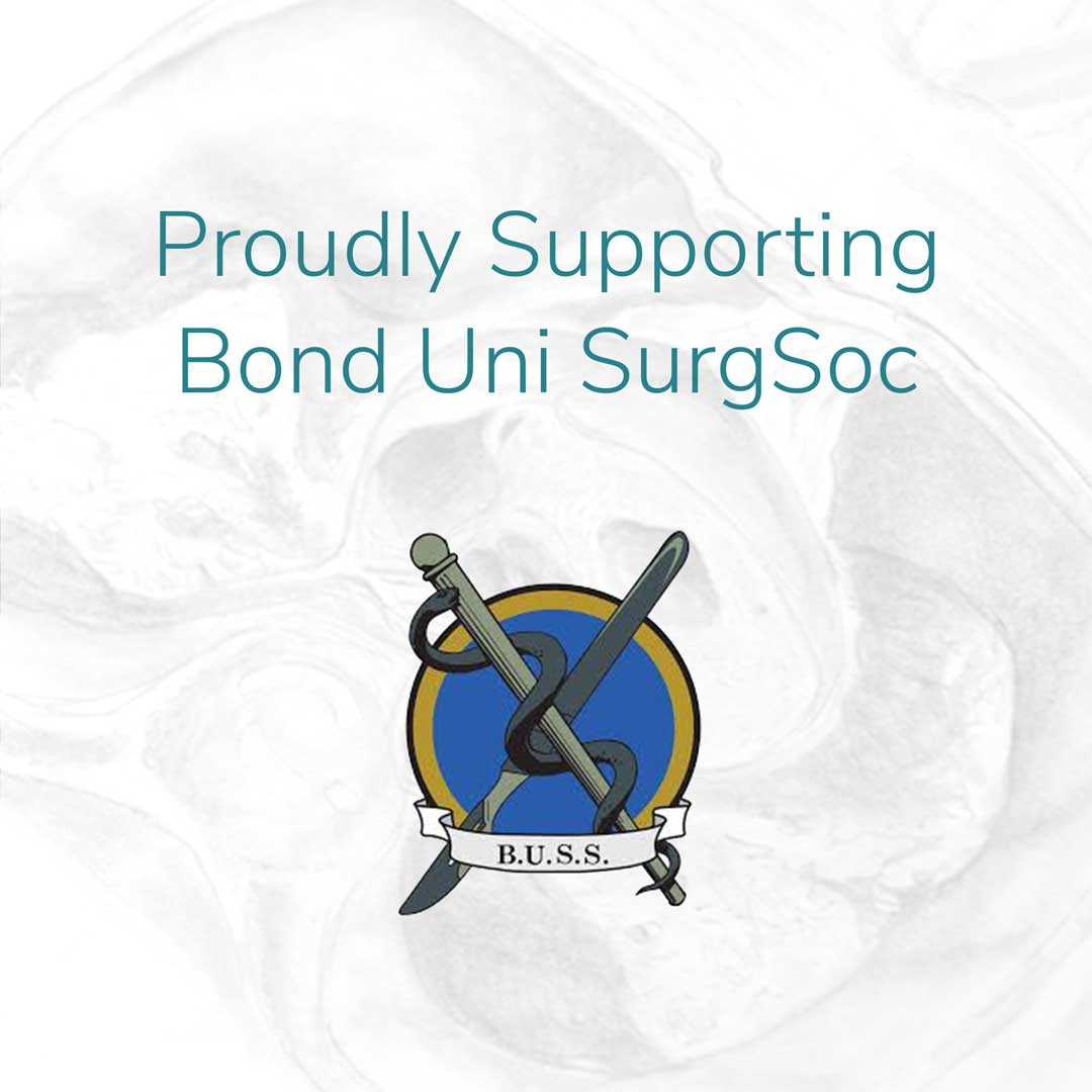 Primary Anatomy is very proud to be supporting Bond University Surgical Society (BUSS) and our future surgeons