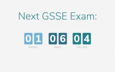 GSSE 2020 Countdown