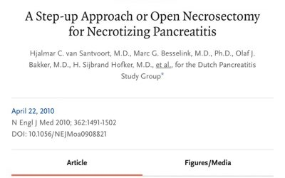Necrotizing pancreatitis – NEJM